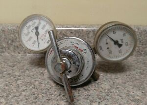 Vintage Airco Regulator Wika Gauges 111 11 68 4000 Used