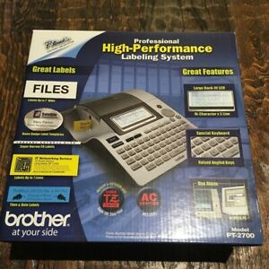 Brand New Brother P touch Pt 2700 Professional Label Maker Labeling System