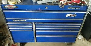 Snap On Roll Cab 55 Tool Box Classic Double Bank 11 Drawer Tool Chest