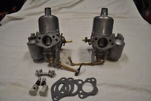 Mga 1600 Su H4 Pair Rebuilt Carburetors