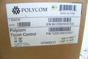 New Polycom Touch Control 2201 61652 001 Video Conference Control Pad Stand