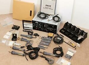 Pace Prc 2000 Solder Rework repair Station W Accessories Free Ship To Lower 48
