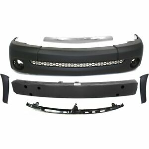 Front New Kit Bumper Cover For Toyota Tundra 2003 2006