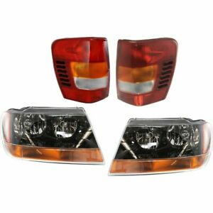 New Auto Light Kit Jeep Grand Cherokee 1999 2002