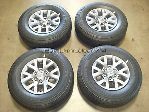 16 16 18 Toyota Tacoma Sr5 Wheels Rims Tires Oem Factory 4runner Alloy 16 15