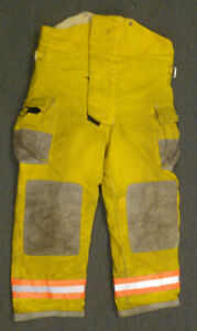 40x32 Globe Firefighter Pants Turnout Bunker Fire Gear P992
