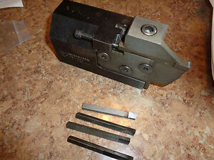 Manchester Modular Indexable Tool Holder Plus 5 Inserts