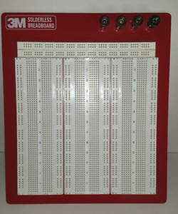 Vintage 3m Solderless Breadboard Model 327 Part 922327 Stock 80 6103 6265 1