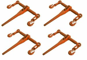 4 Pack Ratcheting Load Binder 5 16 3 8 Chain Ratchet Boomer Tie Down Rigging
