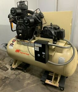 Ingersoll Rand 20 hp 120 gallon Two stage Air Compressor 15te20 p 230
