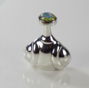 Mexico Sterling Silver Perfume Bottle 24 7grams 2022