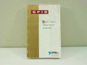 National Instruments Gpib Ni488 2 Software Reference Manual For Ms Dos