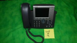 Cisco 7965 Cp 7965g Unified Voip Ip Phone Color Lcd Display Lot Of 9 My
