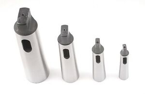 4pc Morse Taper Sleeve Set new Ds