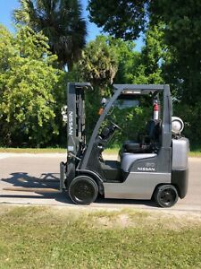 2006 Nissan Mcp1f2a25lv Forklift 5 000 Lbs Lpg Lift Truck Side Shifter 3 Stage