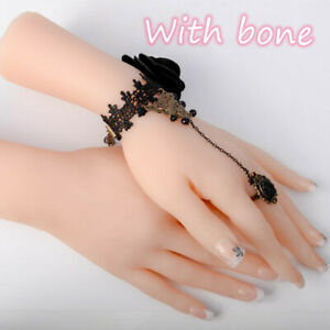 Mannequin Hand Props Display Jewelry Finger Female 1pc Realistic Silicone Model