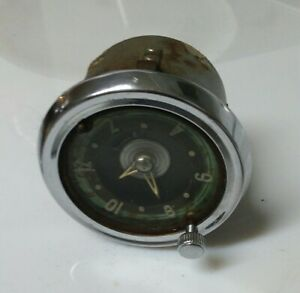 Buy It Now 1953 54 Chevy Dash Clock Bel Air Oem Original 54 55 Pickup Gmc