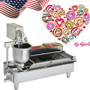 Automatic Commercial Donut Fryer Maker Making Machine Donut Robot Stainlesssteel