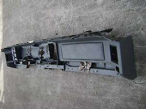 85 90 Firebird Formula Trans Am Gta Dash Frame Assembly Gray