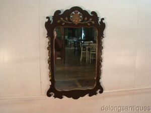 50545 Kindel Mahogany Chippendale Style Mirror