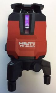 Hilti Laser Level Pm 40 Mg Multi Line Laser Line Projectors Green