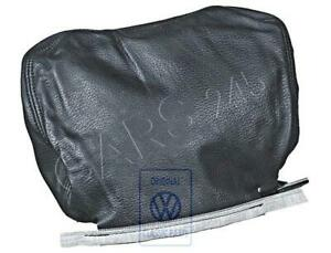 Genuine Vw Golf Jetta Syncro Head Restraint Cover Leather 171881921f7wx