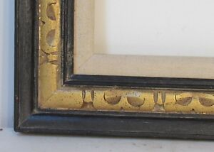 American Art Crafts Hand Carved Gilded Wood Frame For Painting 20 X 16 Inch