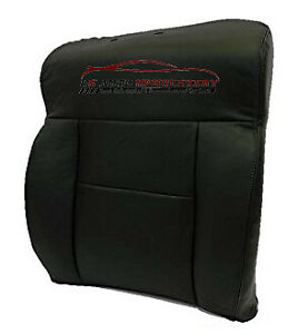 2008 Ford F 150 Lariat 2wd Super Crew Driver Lean Back Leather Seat Cover Black