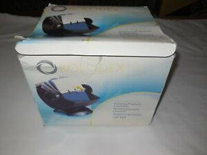 Rolodex Covered Rotary Swivel Card File model 66891rr 500 Cards