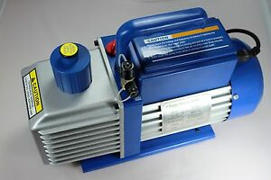 Vacuum Pump 9 Cfm 2 Stages 1hp 110 220v 50 60hz All Refrigerants