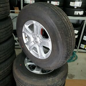 Set Of 5 2018 Jeep Wrangler Jl 17 Factory Wheels And Tires New Takeoffs Oem