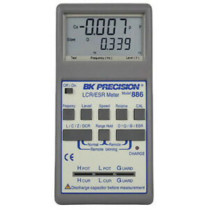 Bk Precision 886 Synth In circuit Lcr esr Meter 0 5 Accy 100khz
