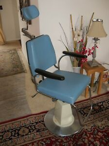 Reliance Examination Chair Koenigkramer Foot Pump Dental Medical Salon Tattoo