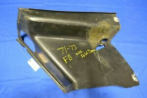 1971 1972 1973 Mustang Fastback Fold Down Side Panel Trim Right Side