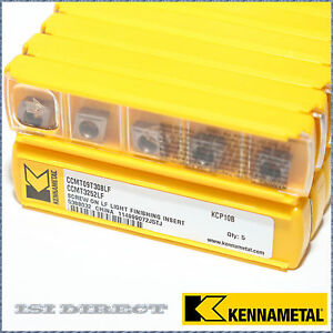 Ccmt 32 52 Lf Kcp10b Kennametal 10 Inserts Factory Pack 3252