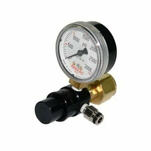 Shifnoid Pc2004 Air Shifter Regulator Co2 Preset At 85 Psi Single Gauge Ea