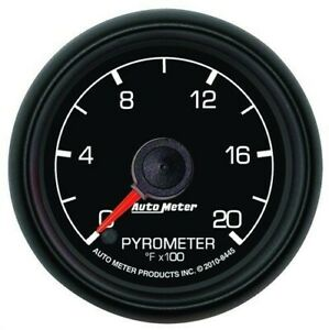 Auto Meter 8445 2 1 16 Electric Pyrometer Egt Gauge 0 2000 Ford Factory Match