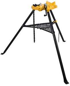 Steel Dragon Tools 72037 6 Tripod Pipe Chain Vise Stand Model 460 12r 300 700