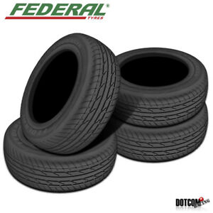 4 X New Federal Couragia Xuv P275 70r16 114h All Season Traction Tire