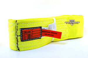 Ee2 904 X10ft Nylon Lifting Sling Strap 4 Inch 2 Ply 10 Foot Feet Usa Made