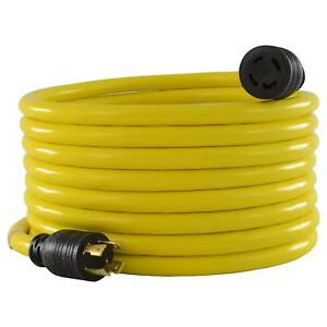 Emergency Generator Extension Cord Shed Garage Shop Rv Store Food Truck 100 Ft