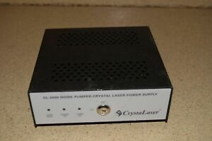 Crystalaser Cl 2000 Diode Pumped Crystal Laser Power Supply No Key