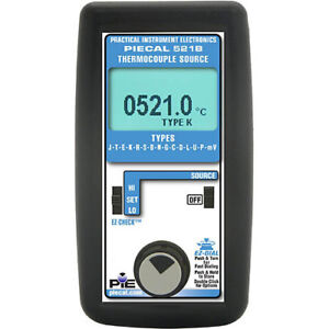 Pie 521b 14 Thermocouple Type Calibrator