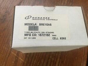 Danaher Industrial Controls Bre10a6 Eagle Signal Electronic Reset Timer 60 Sec
