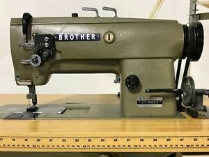 Brother Lt2 b832 3 Industrial Sewing Machine twin Needle