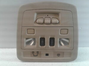 09 14 Cadillac Cts Overhead Console W Sunroof Switch Homelink Oem