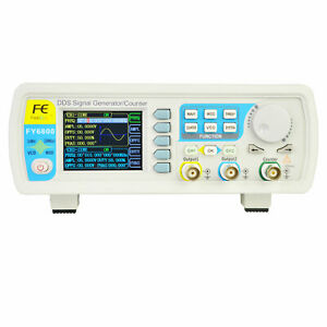 Dds Multifunctional Dual channel Signal Generator Source Frequency Counter 60mhz