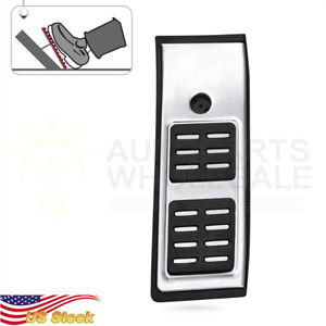 For Audi New Sq5 Q5 2018 2019 Steel Foot Rest Dead Pedal Pad Cover Accessories