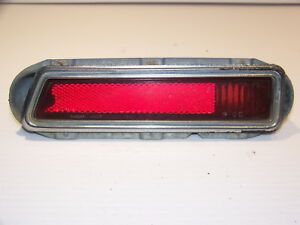 1970 Dodge Demon Dart Swinger Rh Red Side Marker Cornering Light Oem 3403688