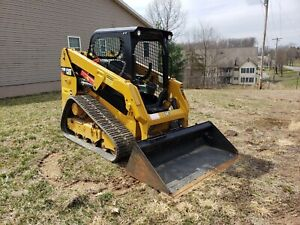 2016 Cat 239d Track Skid Steer Loader 462 Hours